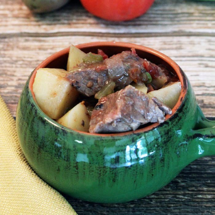 CROCKPOT BEEF STEW (AKA NO PEEK STEW)