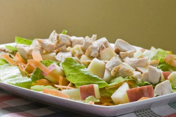 Easy Chicken Salad with Apples