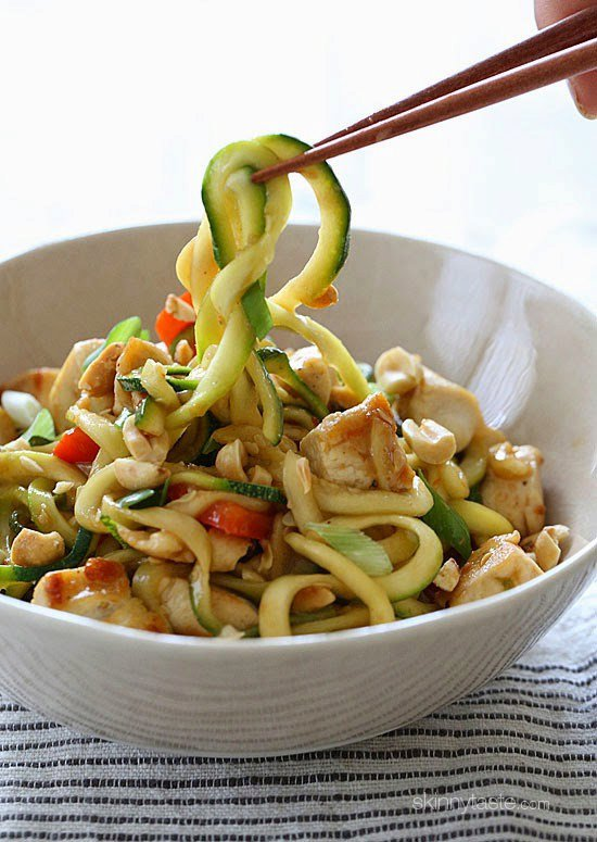 Kung Pao Chicken Zoodles