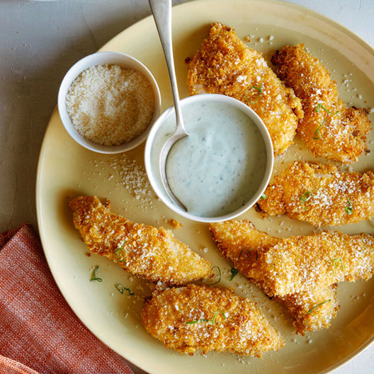 Light and Crispy Baked Chicken Tenders